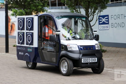 We Had Groceries Delivered By a Robot, and It Was Like Living in the Future – Andy Boxall